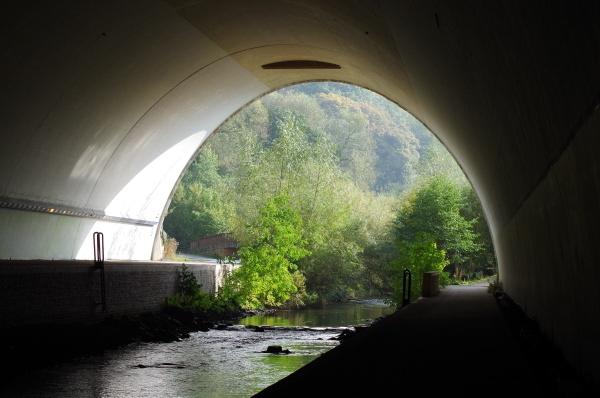 River Bollin Tunnel by Kako