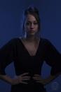 "Spanish lady at ""The Blue Room"" by TETRAGRAMATON"