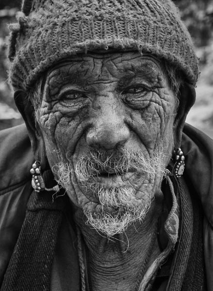 Tibetan Monk by PaulHolloway
