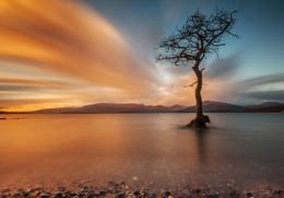 Sunset Milarrochy Bay.