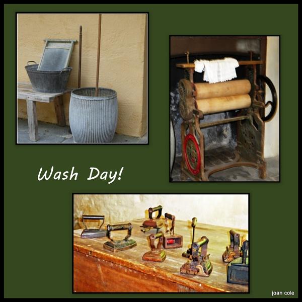 WASH DAY by EMJAYCEE