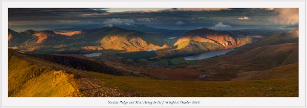 Nantlle Ridge and Moel Hebog ... by J_Tom