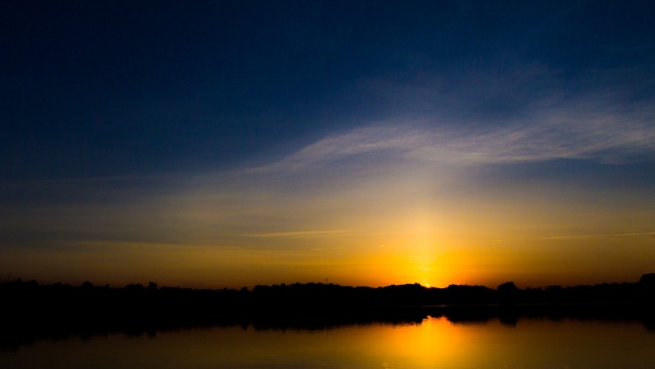 Lac Leamy Sunset by Brianmdoucette