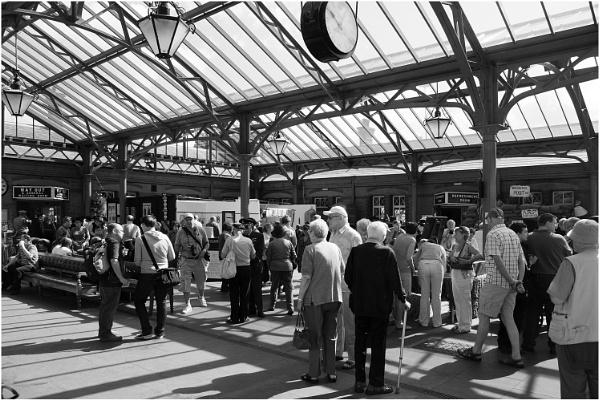 Kidderminster Station Shadows by dark_lord