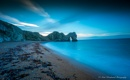 Durdle Door beach by kojak