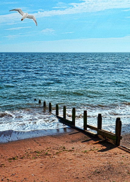 Teignmouth - a sea groyne