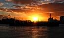 Sunset over Haslar marina.......... by Mollycat