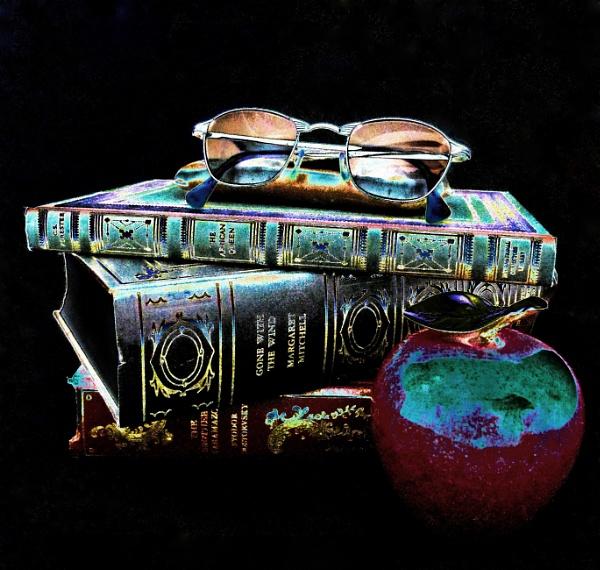 Gilded Literary Pleasures by sheilajean48