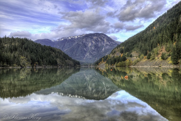 Reflections in North Cascade National Park by thomaskong78