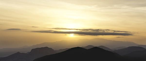 Sunset, Sierra Cabrera