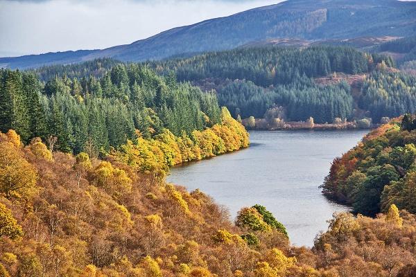 Loch Drunkie by johnsd