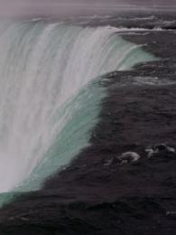 the Top of Horseshoe Falls