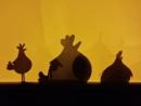 Shady Chickens by SandraKay