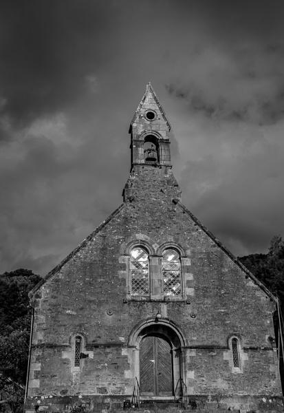Old empty church by Craigie10