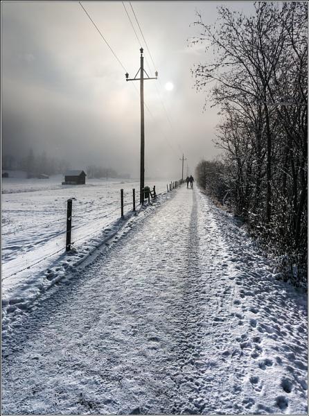 Snowy Path 3 by Otinkyad