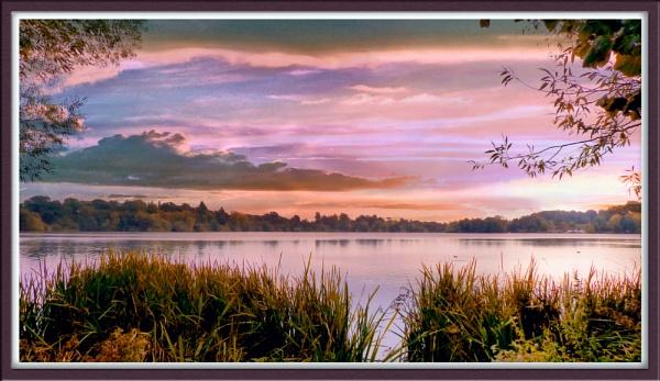 SUNRISE AT ELLESMERE by basilr