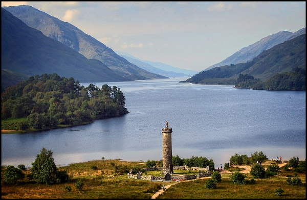 Loch Shiel, Scotland by fentiger