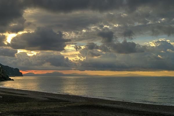Golden Sunrise by ajhollingbery