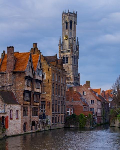 Bruges by nightjockey