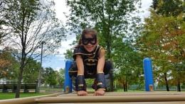 Batgirl at the Park