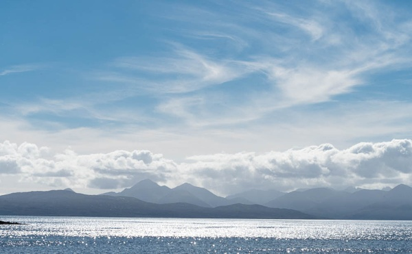 View from Applecross to Raasay by Pollyjc