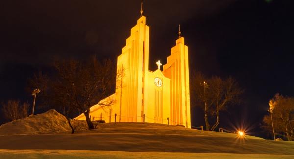Akureyrikirkja, Iceland by BobinAus