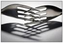 Crossed forks by EddieAC
