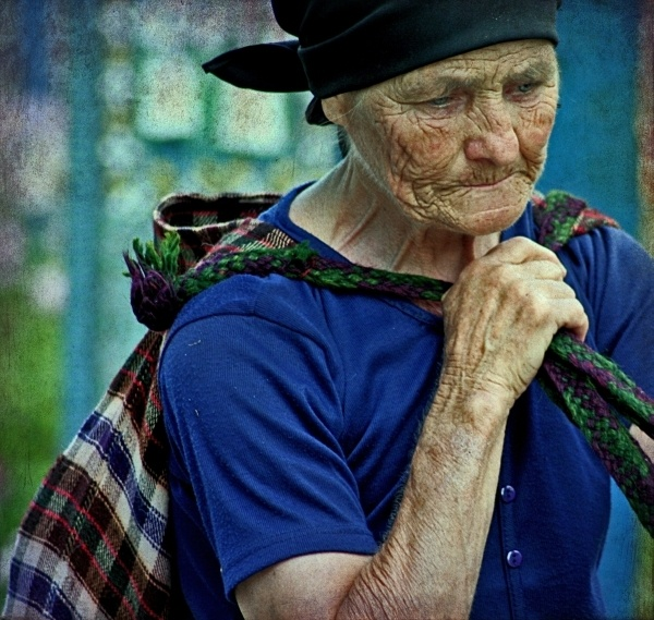 Countryside old woman by vetlife2005