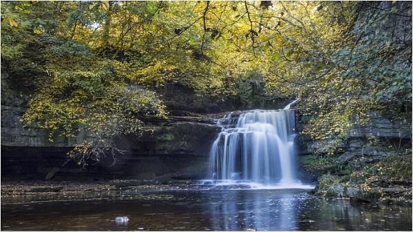 West Burton Falls by Leedslass1
