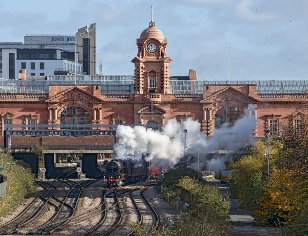 6201 \'Princess Elizabeth\' departs Nottingham by GeoffDoncaster18