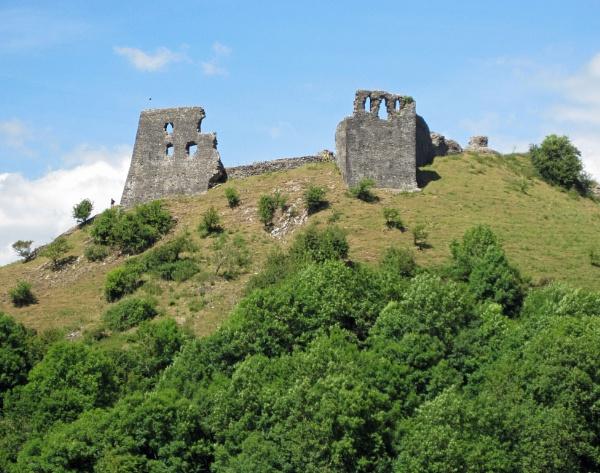 Dryslwyn Castle, Carmarthenshire by HerefordAnn