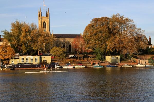 Hampton Church by brianwakeling