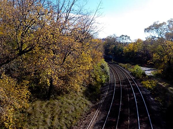 LANSCSAPE TAKE OF RAILWAY TRACKS by TimothyDMorton