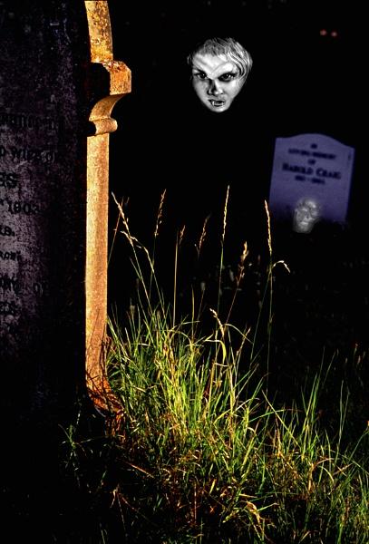 Happy Halloween - taken in a cemetery last year by lonely_oryx