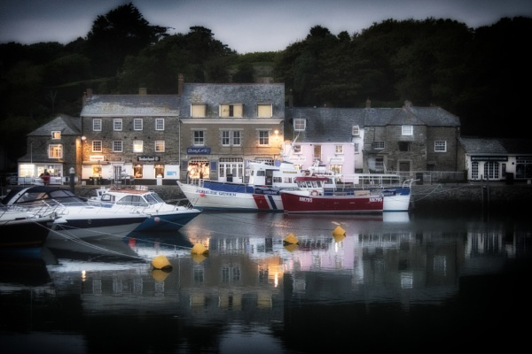 Padstow harbour evening by dawnstorr