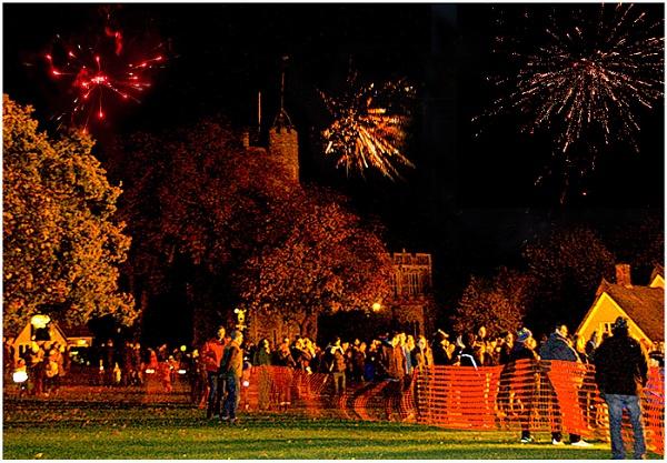 Village fireworks Cavendish by derekp
