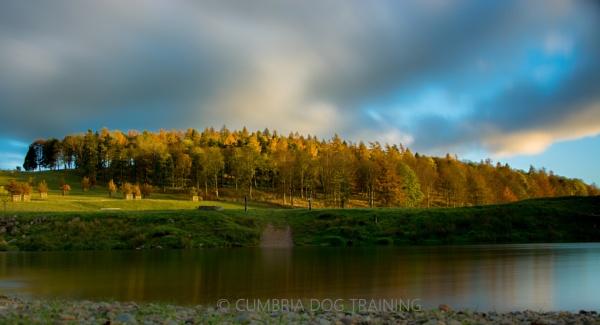 Autumn Sunset by CumbriaDogTraining