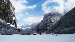Welcoming winter in Lauterbrunnen, Switzerland