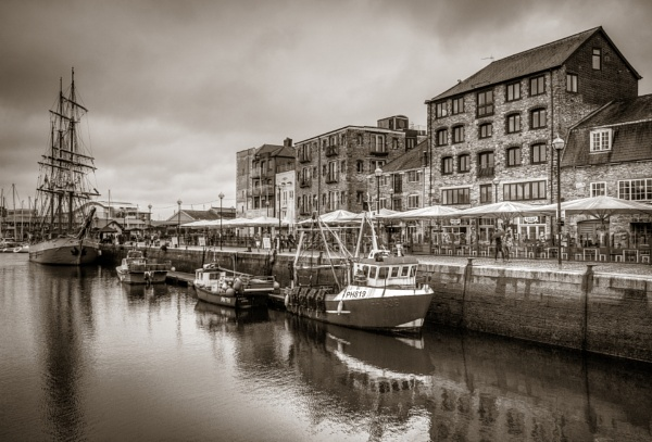 The Barbican, Plymouth by Prince_Bytor