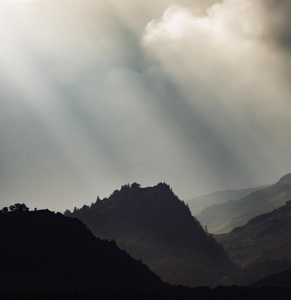 Castle Crag, Borrowdale, Lake District by RodIreland