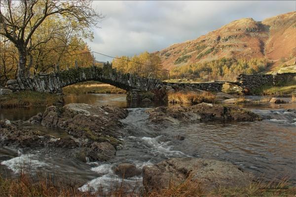 The Old Packhorse Bridge - Slater\'s Bridge by canoncarol