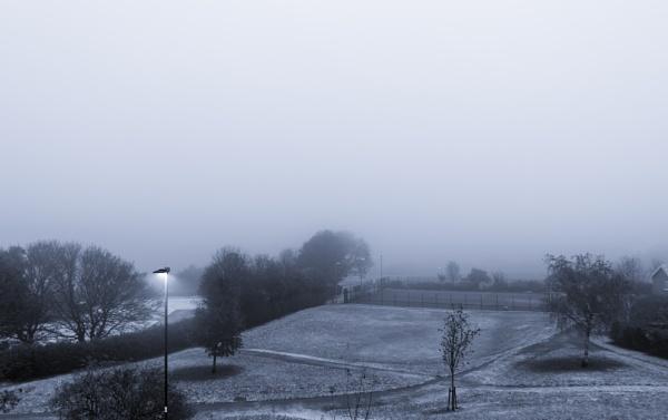 Snowy Morning by JamesBarson