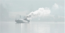 Steaming up Coniston