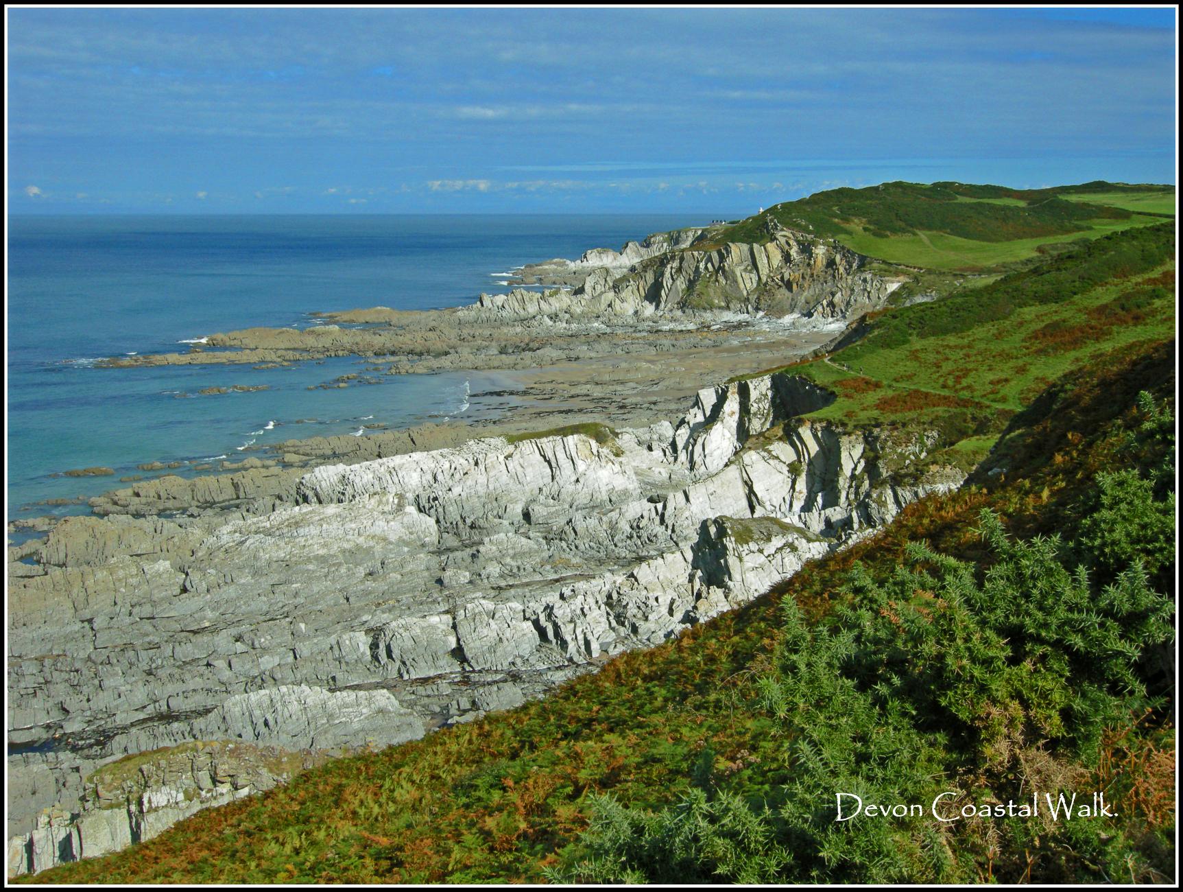 Devon Coastal Walk.