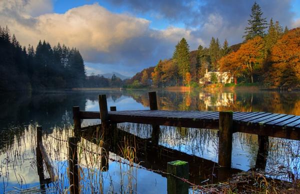 Loch Ard Pier by Irishkate