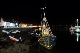 Ullapool at night