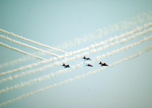 Red Arrows RAF Marham by Cyclone