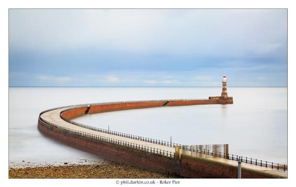 Roker Pier by Philpot