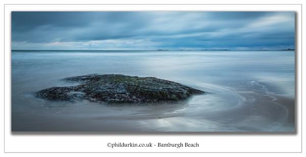 Bamburgh Beach by Philpot