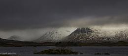 Black Mount Overcast...